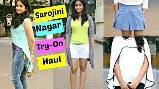 Sarojini Nagar Try-On Haul || Summer Lookbook
