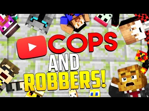 YOUTUBE PRISON - Minecraft YOUTUBER Cops N' Robbers