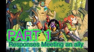 Dota 2   Responses Meeting An Ally With Subtitle Part 1