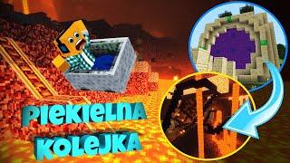 "Minecraft #381 -  ""PIEKIELNA KOLEJKA LJAYA!"""
