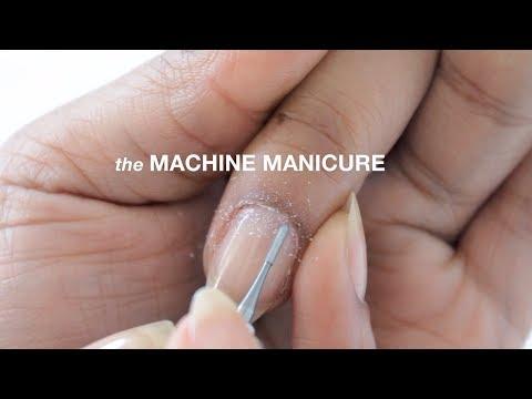 HOW TO MACHINE RUSSIAN MANICURE // abetweene