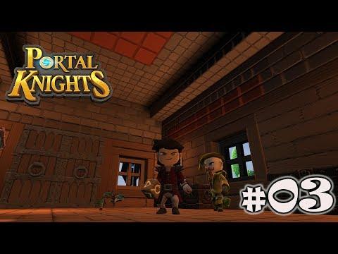 Portal Knights NOVA TEMPORADA #03 A TUMBA DE C'THIRIS!!!