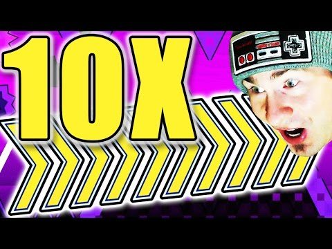 Geometry Dash 10X SPEED CONFIRMED?! ~ FAIRYDUST 10X COMPLETE!!!