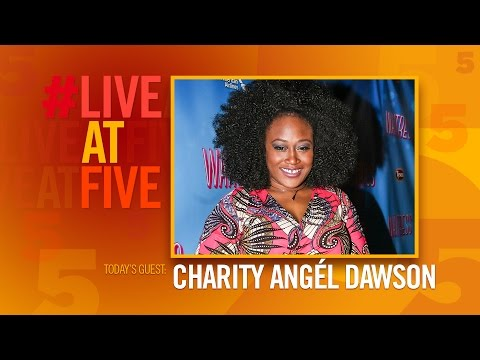 Broadway.com #LiveatFive with Charity Angel Dawson of WAITRESS