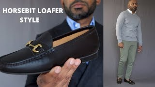 How To Wear HorseBit Loafers