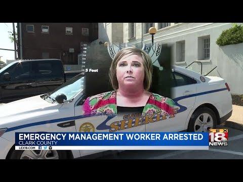 Emergency Management Worker Arrested