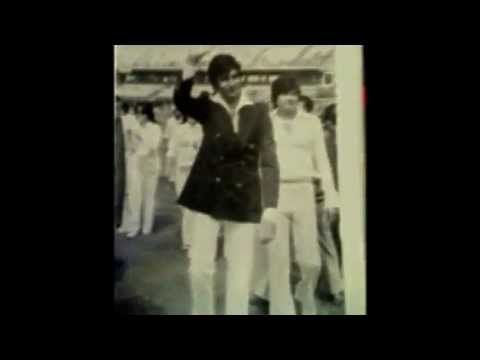Uttam Kumar,Amitabh Bachchan   & others Indian Film Stars-Eden Gardens Kolkata 1979