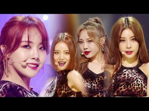 《SEXY》 GIRL'S DAY (걸스데이) - I'll Be Yours @인기가요 Inkigayo 20170409