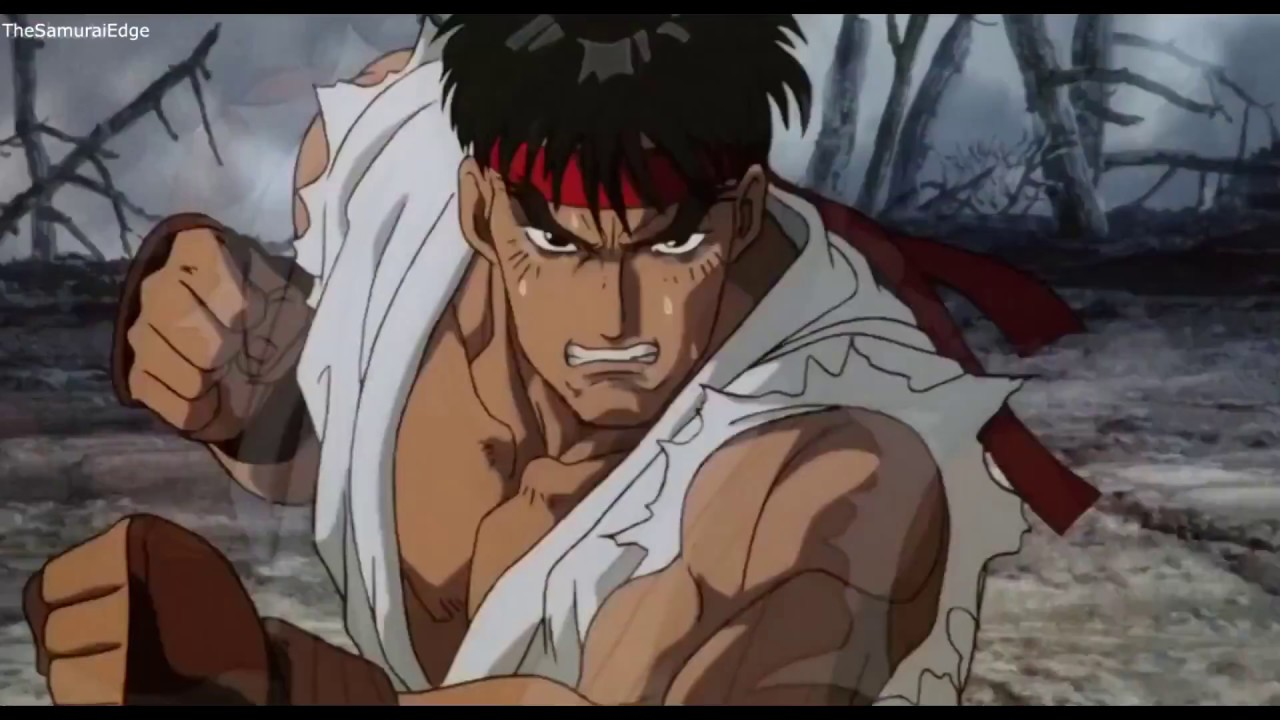 ryu street fighter animated movie