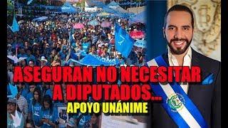 DONATIVOS de salvadoreños y hasta de hondureños