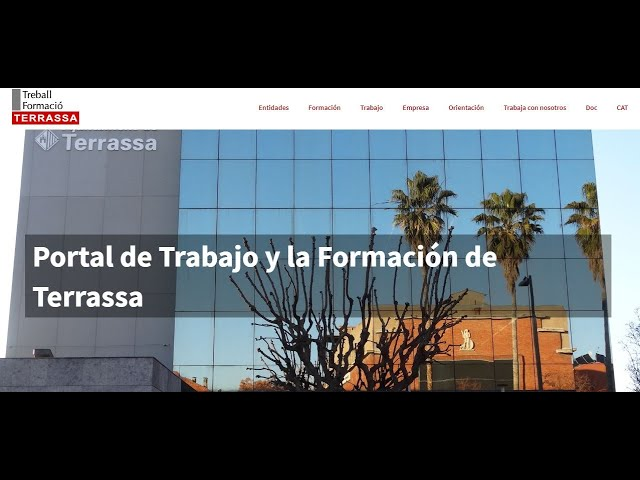 Tutorial del portal Treball Terrassa en castellano