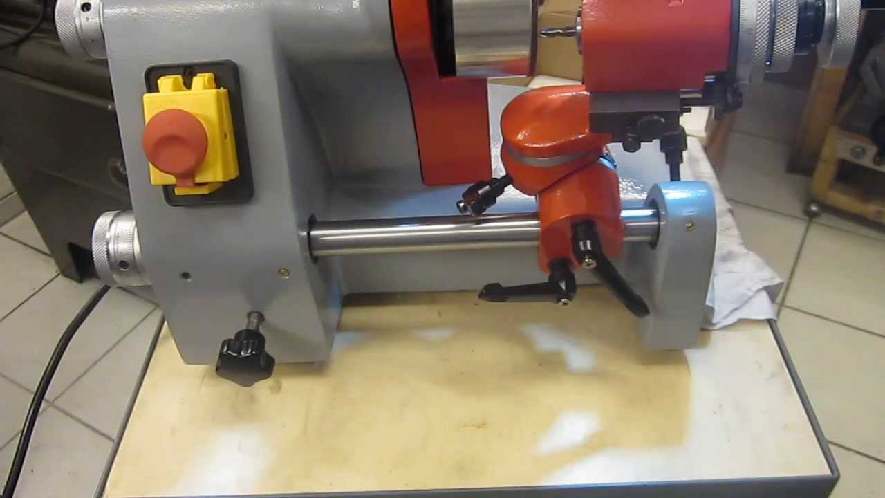 Hervorragend Stichelschleifmaschine: Stirnseitiges Nachschleifen von Fräsern KE86