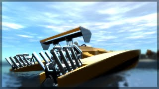 SUPER BOAT IN GTA 5! (GTA 5 MODS)