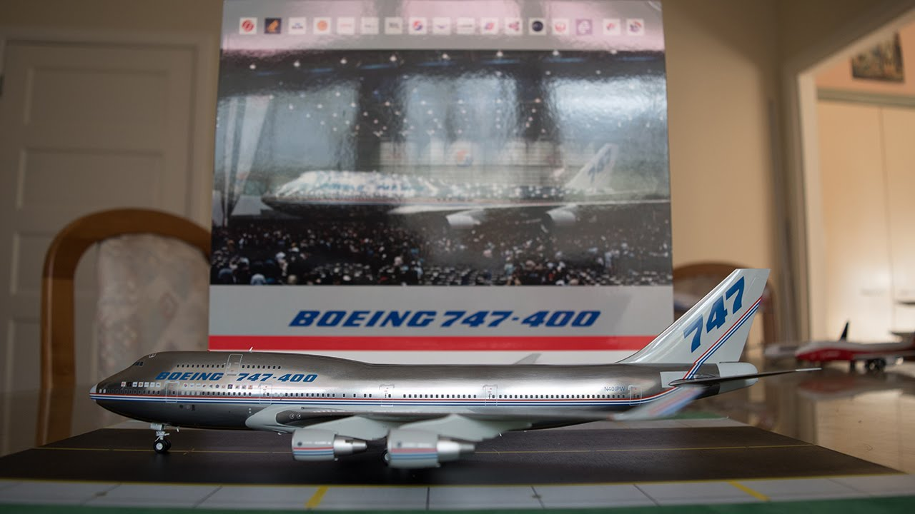 Jc Wings 1 200 Boeing 747 400 Quot Demo Quot Unboxing And Review