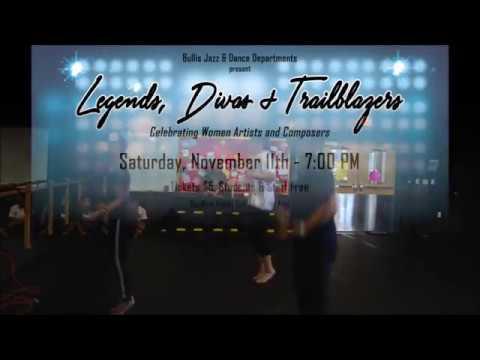 Legends, Divas, and Trailblazers Trailer - Bullis Jazz and Dance Show 2017