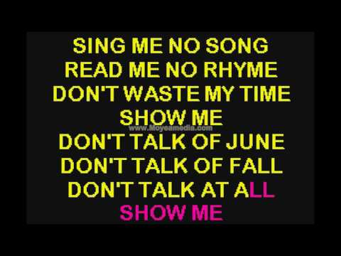 Show Me Duet   My Fair Lady HD Karaoke PK00454
