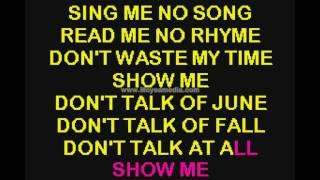 Show Me Duet My Fair Lady HD Karaoke PK00454