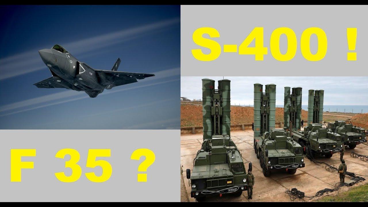 F 35 mi S-400 mü? Ne olacak Bu İşin Sonu????