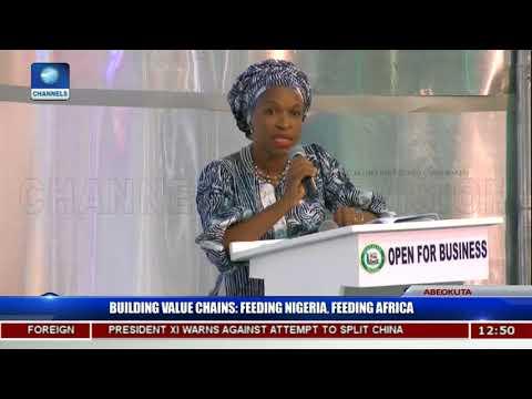 Building Value Chains Aimed At Feeding Nigeria,Africa Pt.1  Ogun Investors'Forum 