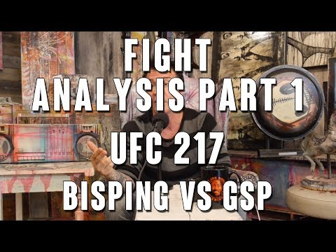 UFC 217 Fight Analysis: Michael Bisping vs Georges St-Pierre