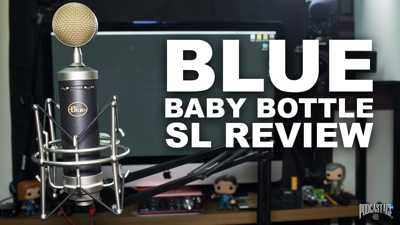 blue baby bottle sl condenser mic review test youtube. Black Bedroom Furniture Sets. Home Design Ideas