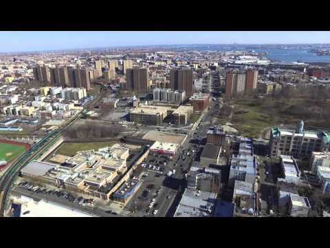 """200 METERS OVER THE SOUTH BRONX HUB IN NYC"""