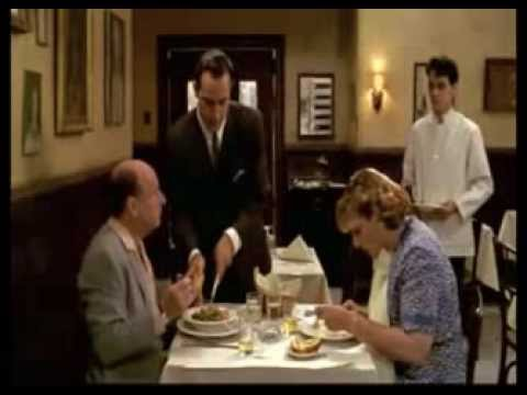 A Precious Scene from Big Night (Why not mashed potatoes on the other side?)