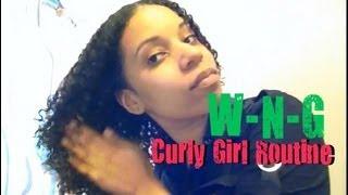 Curly Hair Routine | WNG (Fantasia IC Gel)