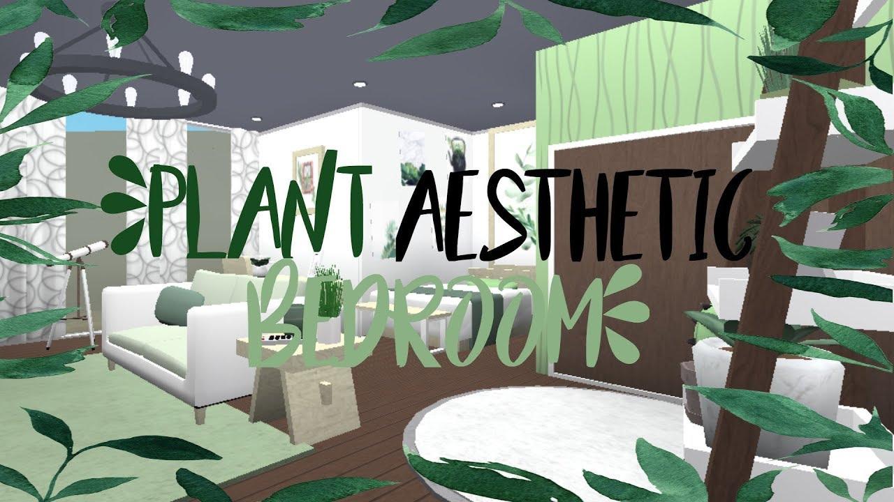 Plant Aesthetic Bedroom 25k Bloxburg Leopardsbff Youtube