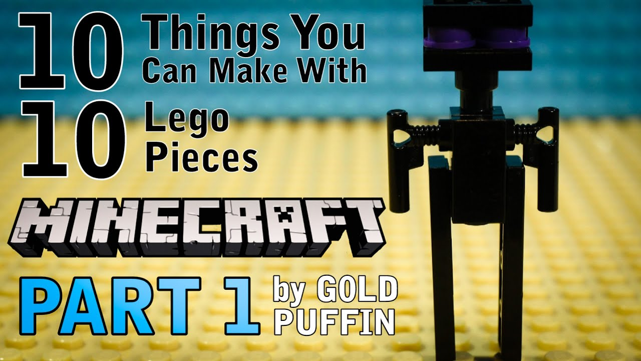 Download 10 Minecraft Things You Can Make With 10 Lego Pieces Part 1