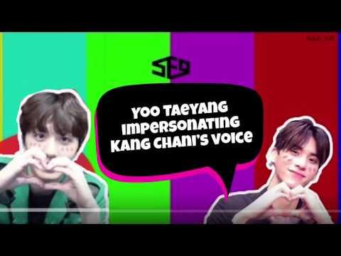 SF9 Short Film 9 #34: Yoo Taeyang Impersonating Kang Chani's Voice Compilation