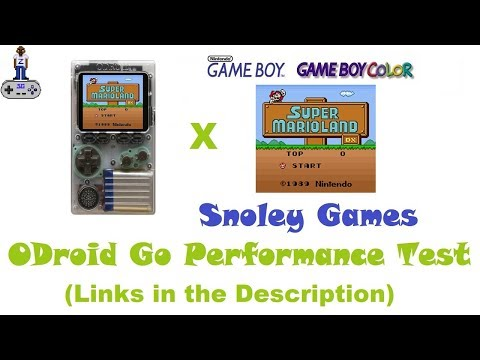 ODROID GO   Super Mario Land DX (Colorized) ROM Hack   Tested, and
