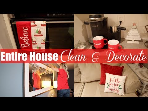 ENTIRE HOUSE CLEAN & DECORATE // BEAUTY AND THE BEASTONS 2018