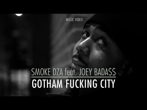 "Smoke DZA (Ft. Joey Bada$$) - ""Gotham Fucking City"" (Official Music Video)"