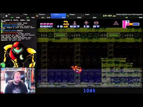 Super Metroid Project Base 104% in 49:46 WR