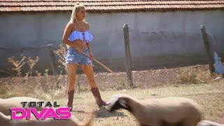Lana practices her shepherding skills in Bulgaria: Total Divas, Jan. 17, 2018