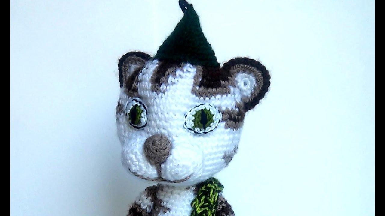 Crochet patterns Findus cat Stuffed animals Amigurumi pattern Plush ...