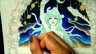 Copic and Prismacolor Drawing:Q&A #1 Pt.1 Reach for the Stars - Erio Touwa