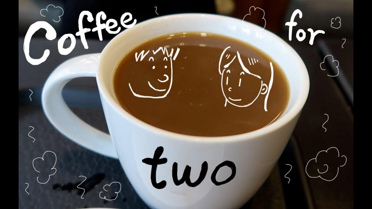 We ordered a grande size coffee. (EN/KR)