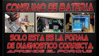 Consumo de batería, el metodo de diagnóstico correcto.