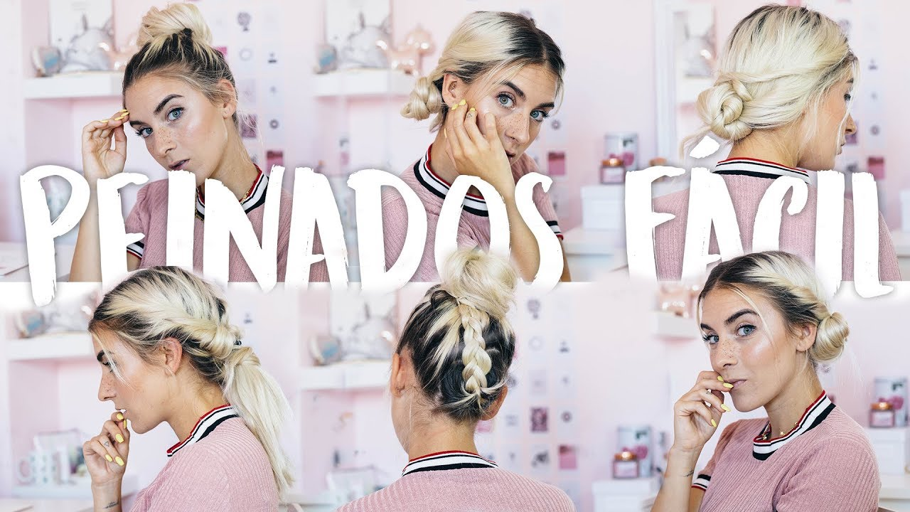 Formas de moda también peinados super faciles Imagen de cortes de pelo Ideas - 7 PEINADOS SUPER FACILES PARA CABELLO CORTO - YouTube