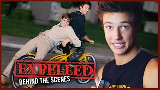 Cameron Dallas and Marcus Johns get Sent to Detention on EXPELLED Set! | Behind the Scenes