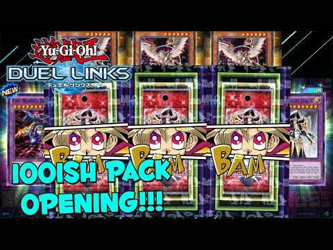 Yu-Gi-Oh! Duel Links 100 Generation Next Pack Opening (GREAT PULLS!)