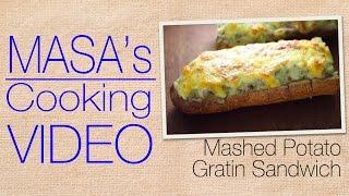 Mashed Miso Potato Gratin Sandwich