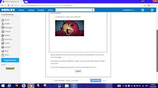 banned from ROBLOX because of Ugandan knuckles..?