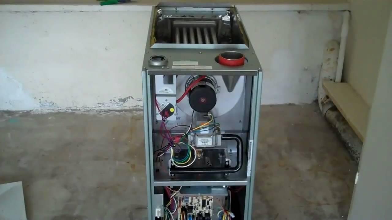 Rheem Furnace Installation And Freon Leak Repair Youtube