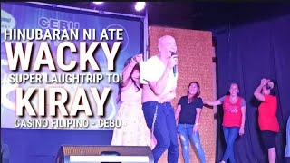 Part 7 - Wacky Kiray Best Comedy Act with the Participating Audience. Laugh Trip to!