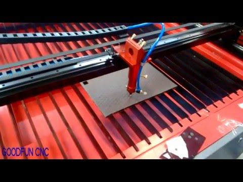 【GOODFUN CNC】rubber mat co2 laser cutting machine