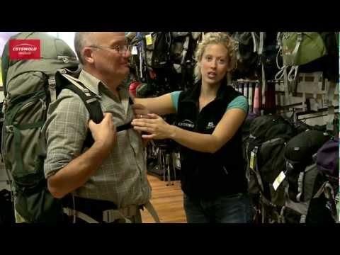 An expert rucksack fitting service - Cotswold Outdoor