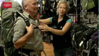 An expert rucksack fitting service - Cotswold Outdoor